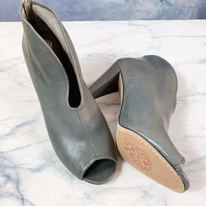 Vince Camuto Amber Peep Toe Bootie